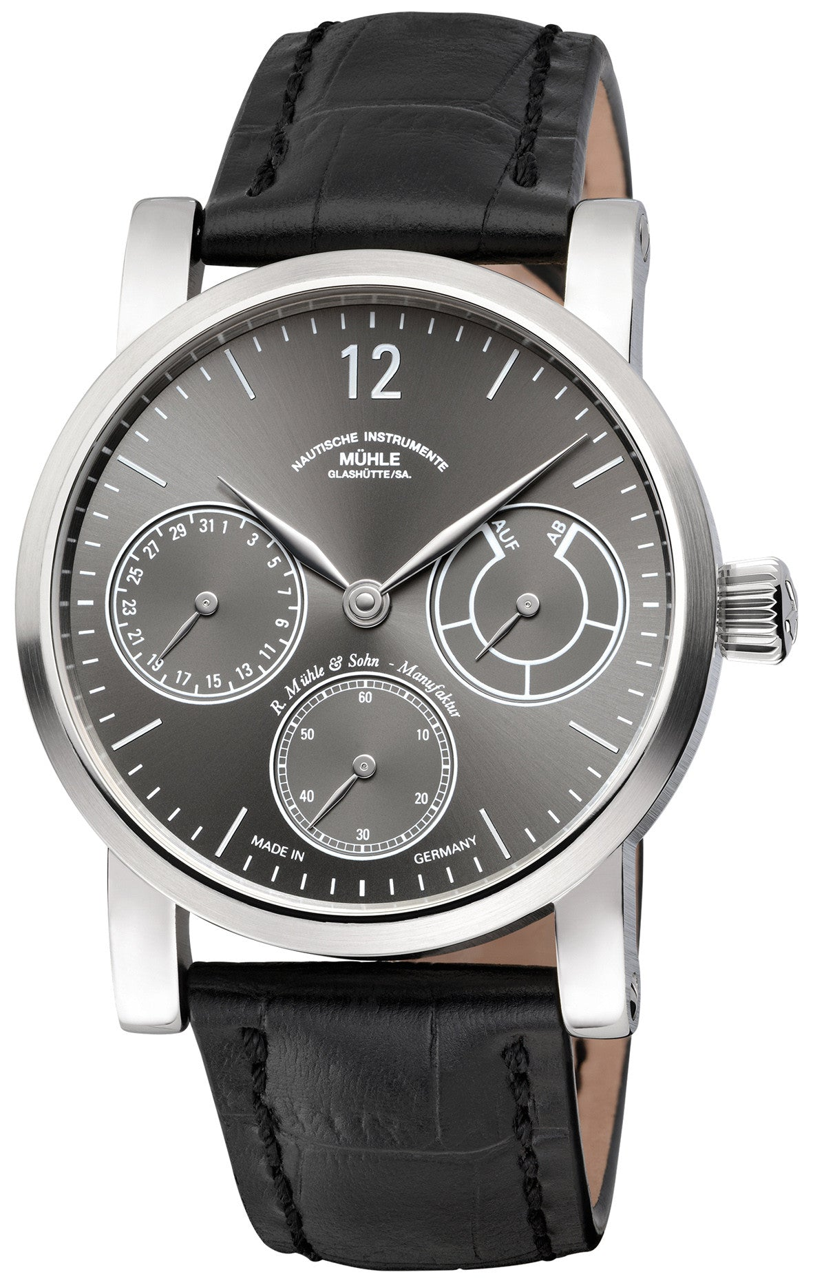 Muhle Glashutte Watch Robert Muhle Zeigerdatum Limited Edition