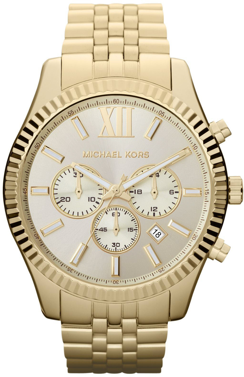 Michael Kors Watch Lexington Chronograph