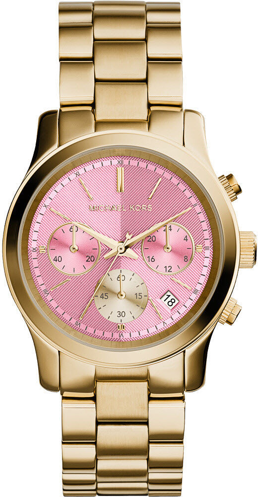 Michael Kors Watch Runway Pink D