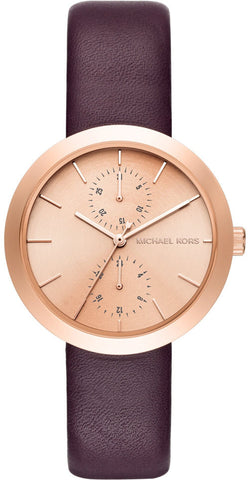 Michael Kors Watch Lux Chronograph Ladies D