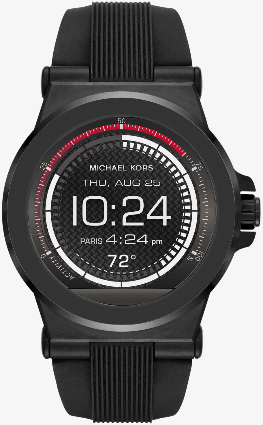 Michael Kors Watch Access Dylan Silicone Smartwatch