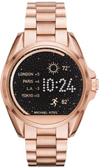Michael Kors Watch Access Bradshaw Rose Gold Tone Smartwatch