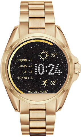 Michael Kors Watch Access Bradshaw Gold Tone Smartwatch