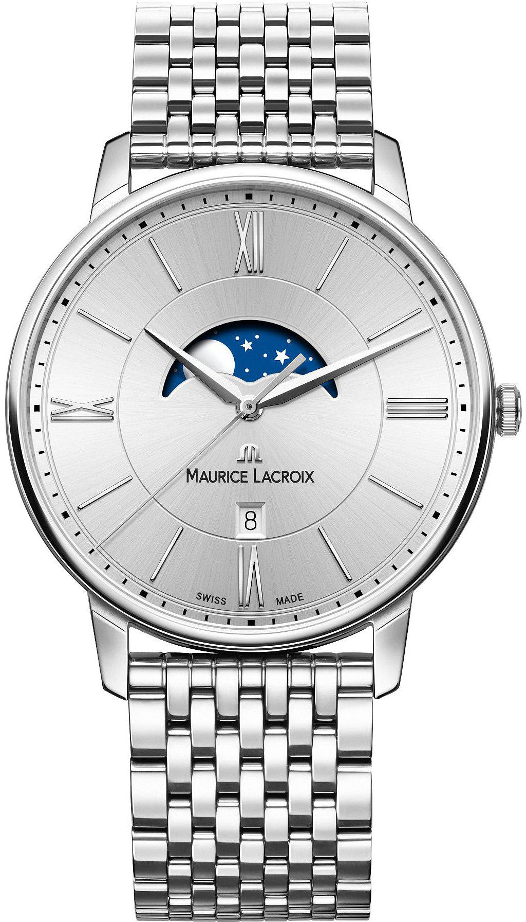 Maurice Lacroix Watch Eliros Moon Phase Mens