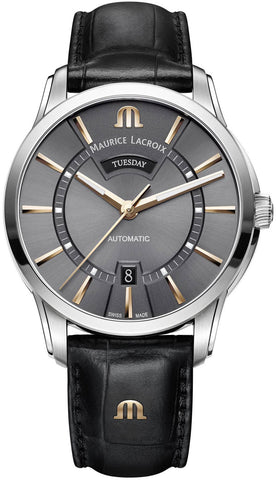 Maurice Lacroix Watch Pontos Day Date Mens