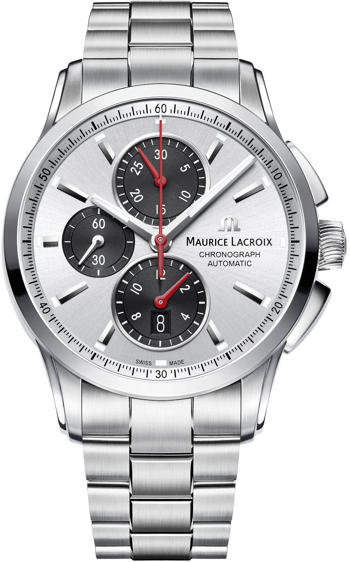 Maurice Lacroix Watch Pontos Day Chrono Mens