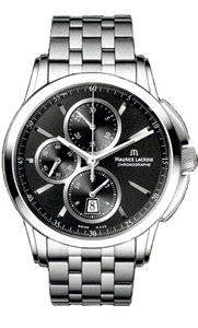 Maurice Lacroix Watch Pontos Round Chrono 3 Counters