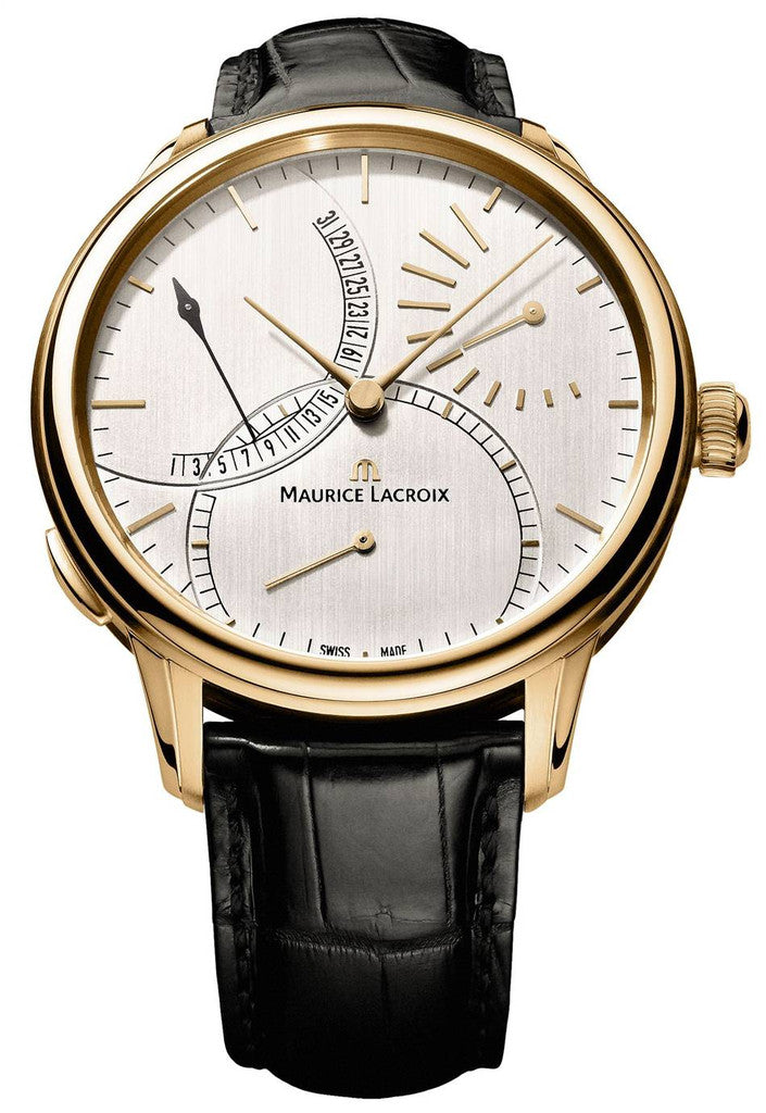 Maurice Lacroix Masterpiece Calendrier Retrograde 18ct Gold D