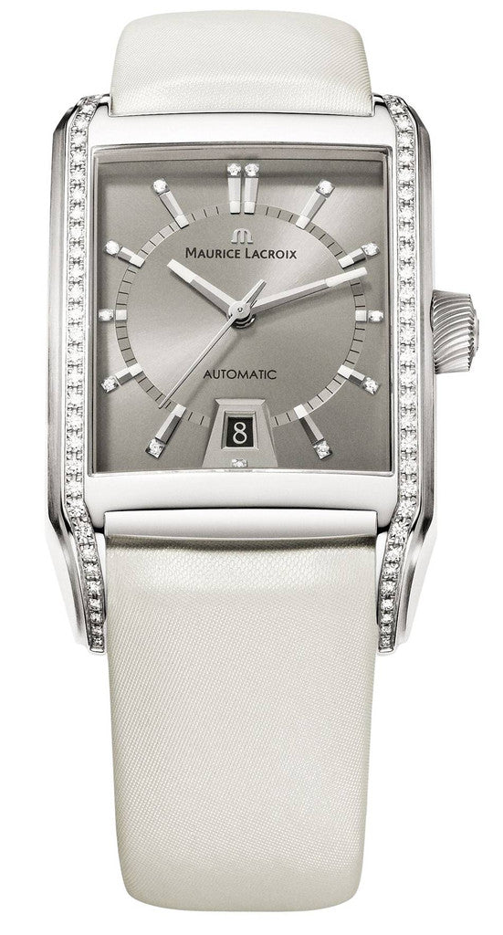 Maurice Lacroix Pontos Rectangle Date D