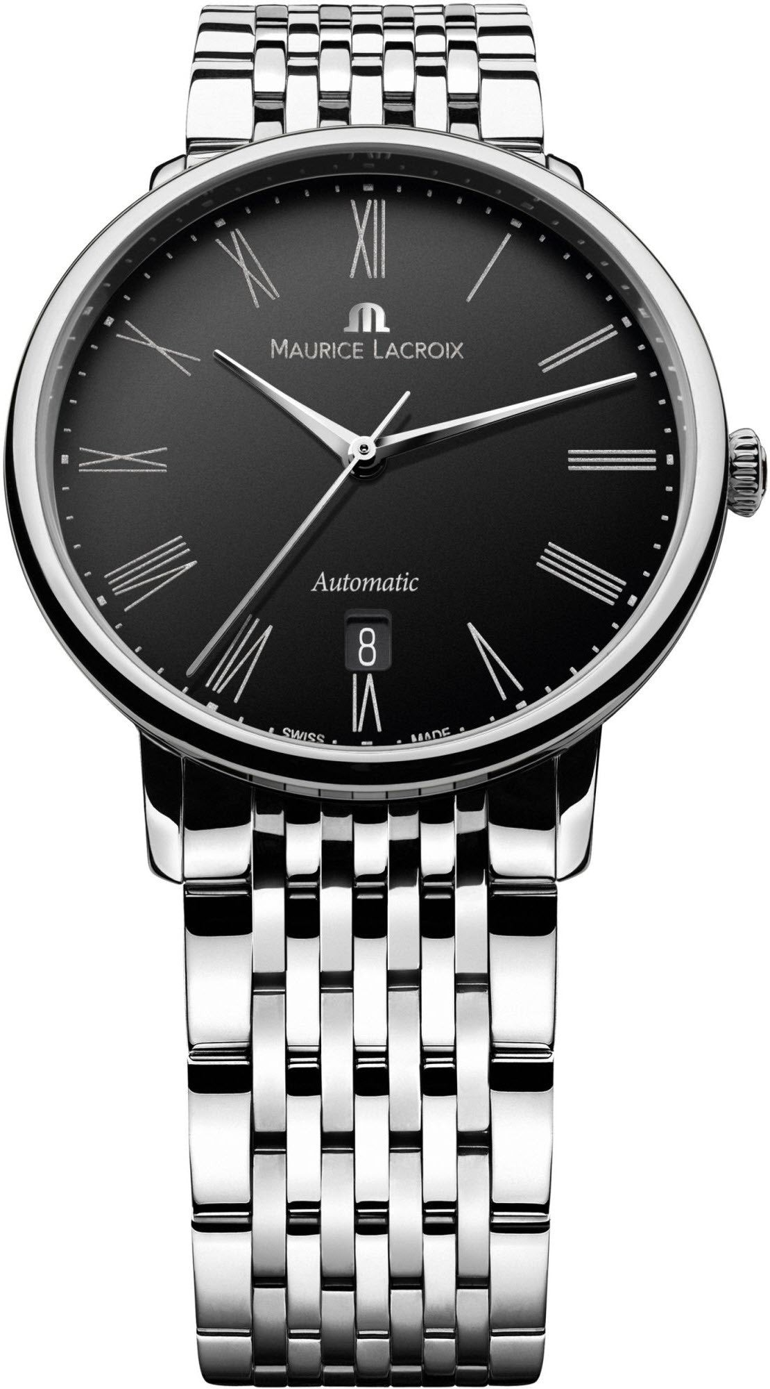Maurice Lacroix Watch Les Classiques Tradition Round Date Mens S