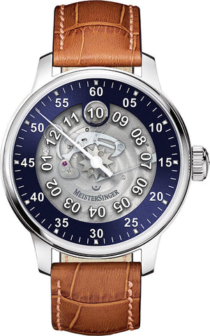 MeisterSinger Watch Salthora Meta Transparent