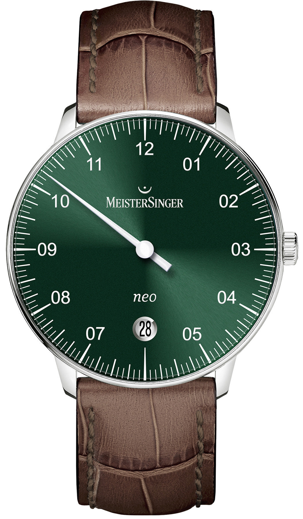 MeisterSinger Watch Neo Sunburst Green