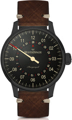 MeisterSinger Watch Perigraph Blackline