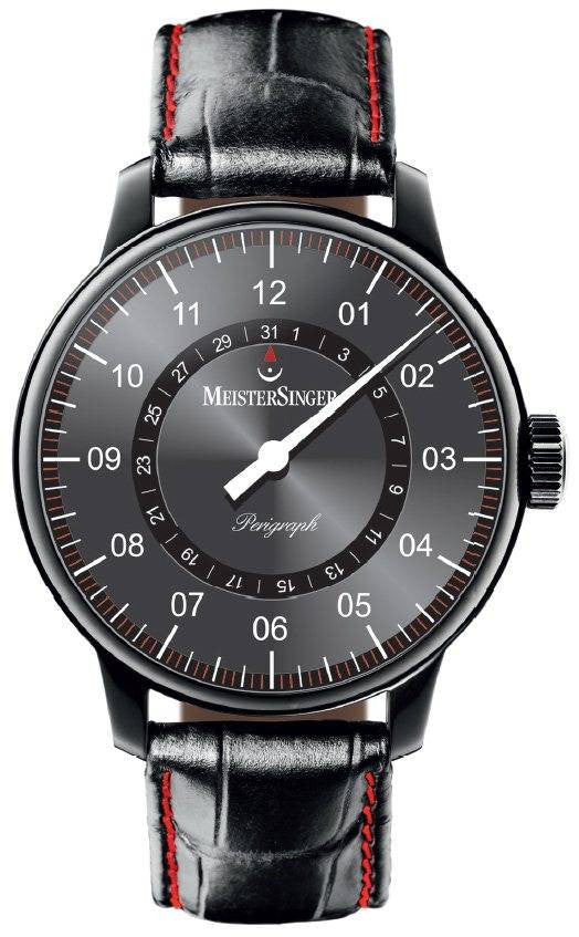 MeisterSinger Watch Perigraph PVD D