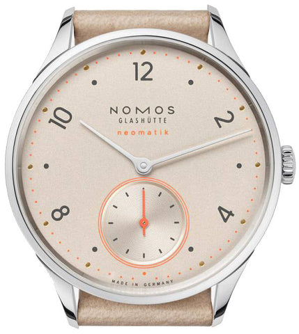 Nomos Glashutte Watch Minimatik Champagner Neomatik First Edition D