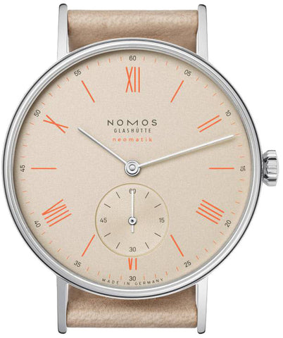 Nomos Glashutte Watch Ludwig Champagner Neomatic D