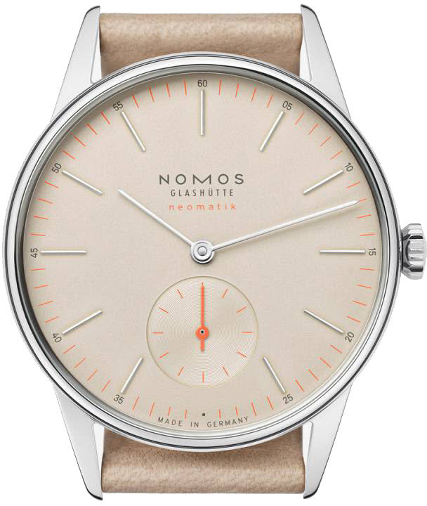 Nomos Glashutte Watch Orion Champagner Nematic D