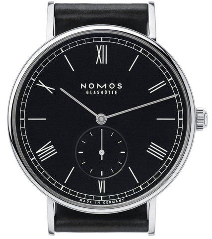 Nomos Glashutte Ludwig Automatic Anthracite Glass Back D