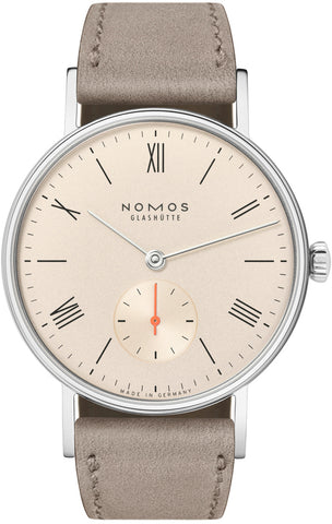 Nomos Glashutte Watch Ludwig 33 Champagne Sapphire Crystal