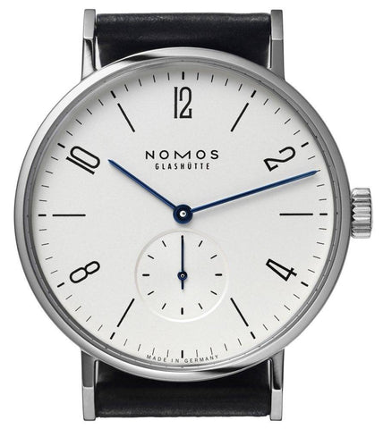 Nomos Glashutte Watch Tangomat Steel Back