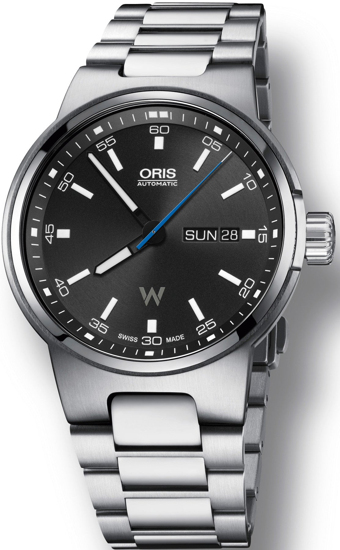Oris Watch Williams Day Date Bracelet