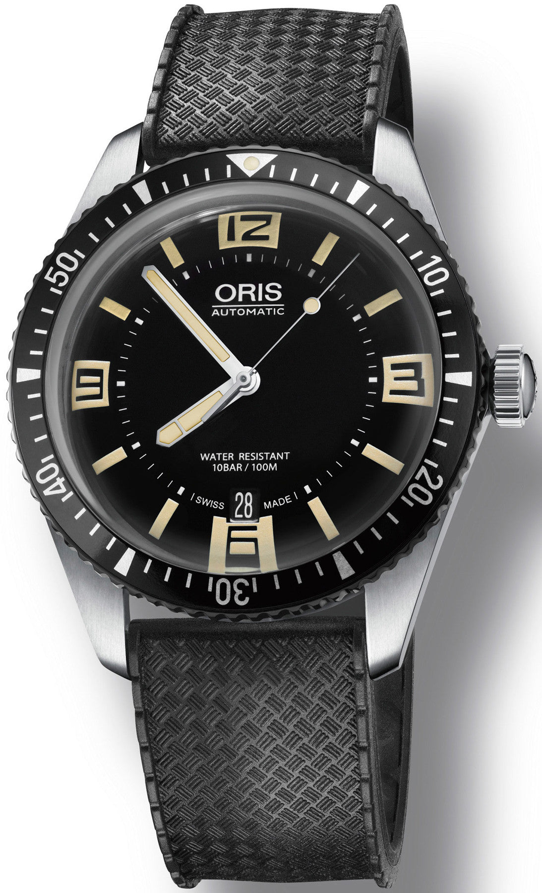 Oris watch divers sixty five rubber 01 733 7707 4064 07 4 20 18 watch for Oris watches
