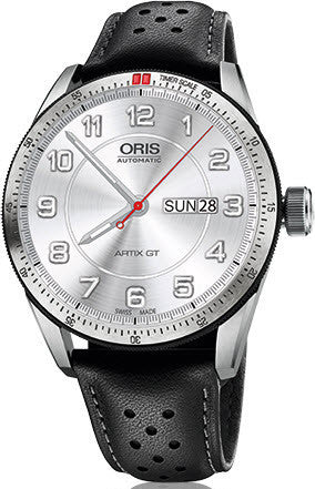Oris Watch Artix GT Day Date Leather