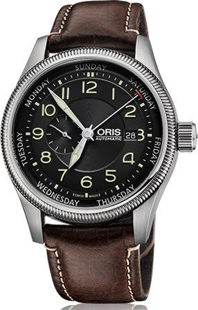 Oris Watch Big Crown Original Pointer Day Leather