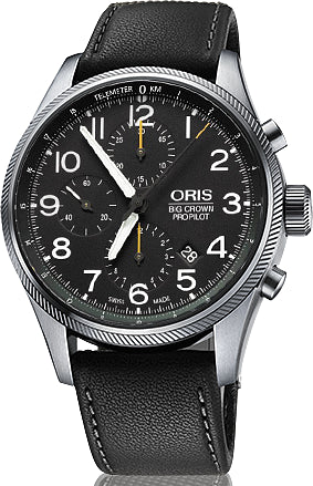 Oris Watch Big Crown ProPilot Chronograph Leather