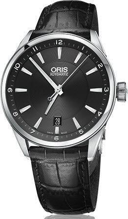 Oris Watch Artix Date Leather