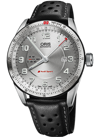 Oris Watch Audi Sport GMT Leather
