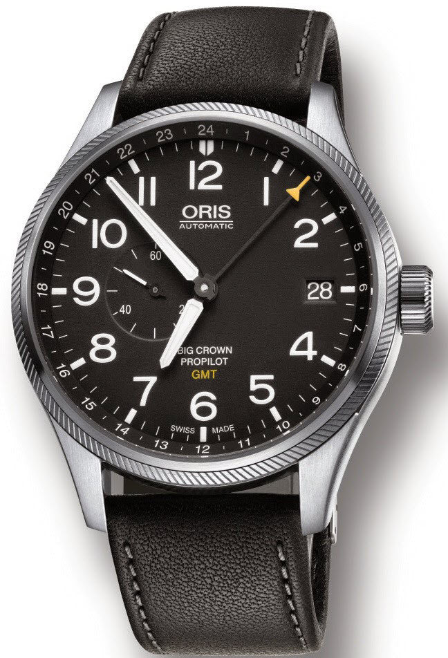 Oris Watch Big Crown Propilot GMT Leather