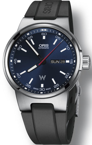 Oris Watch Williams Day Date Rubber