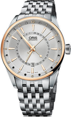 Oris Watch Artix Pointer Moon Bicolor Bracelet