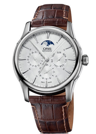 Oris Watch Artelier Complication Leather