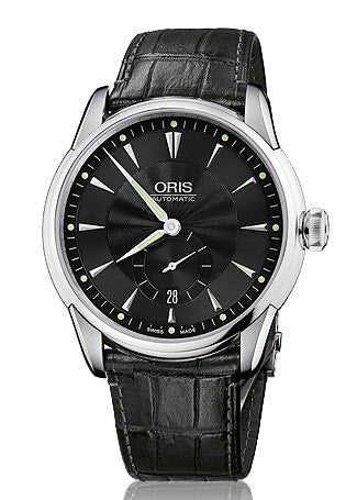 Oris Watch Artelier Small Second Date Leather D