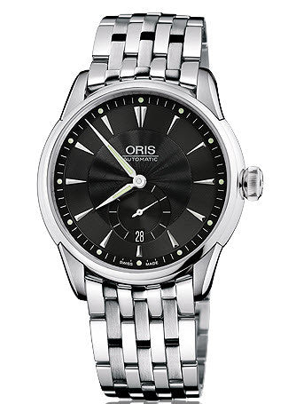 Oris Watch Artelier Small Second Date Bracelet D