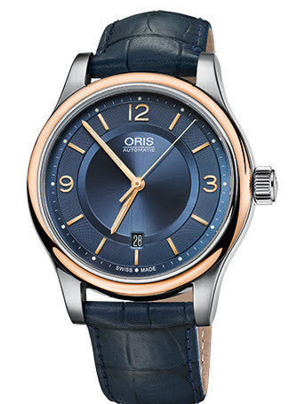 Oris Watch Classic Date Leather