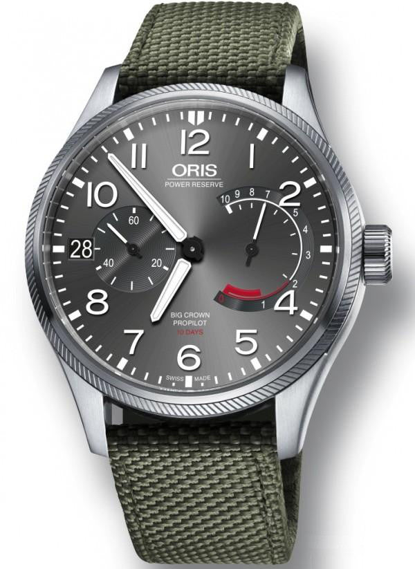 Oris Watch Big Crown ProPilot Calibre 111 Olive Textile