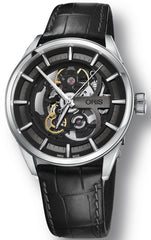 Oris Watch Artix Skeleton Leather