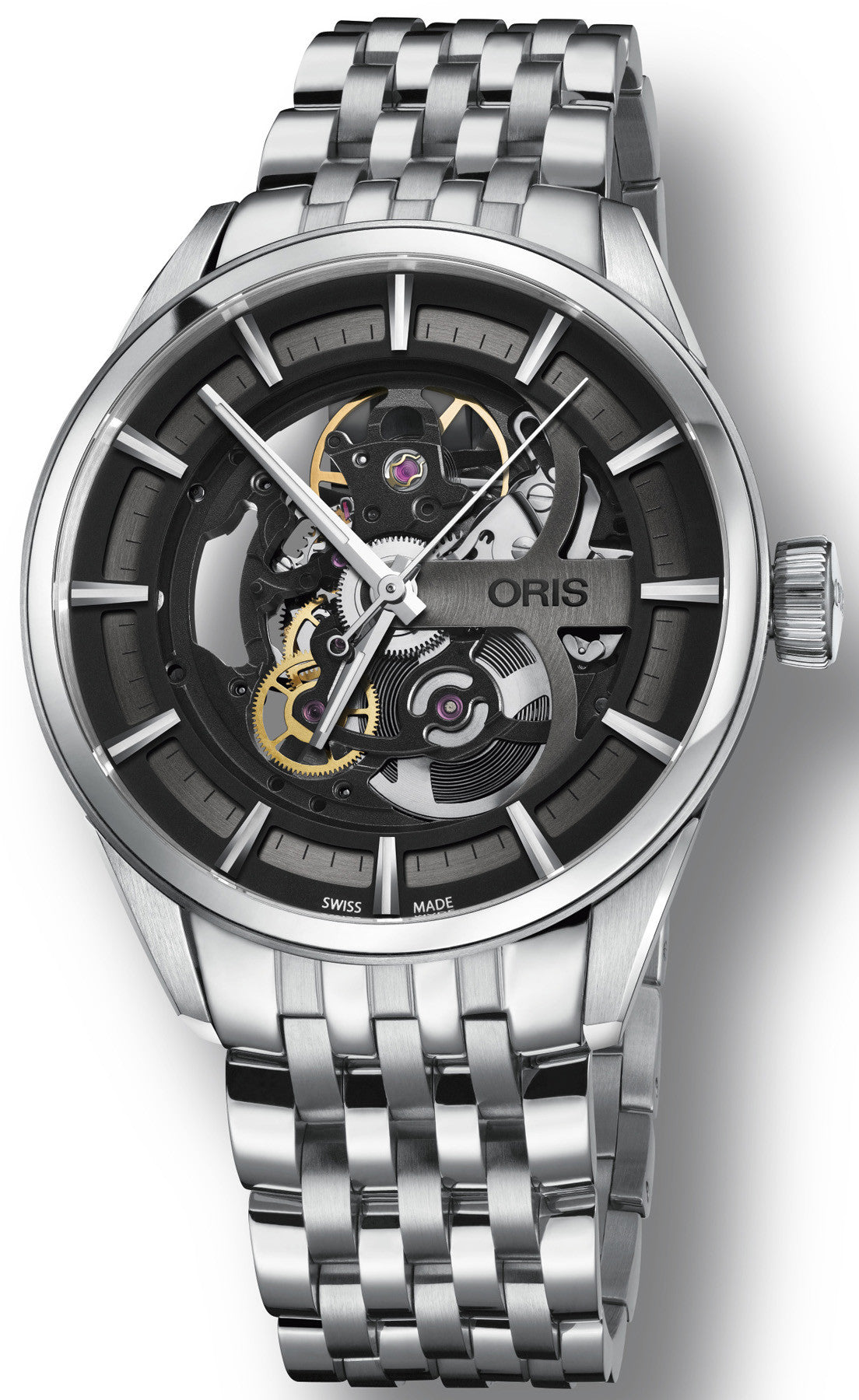 Oris Watch Artix Skeleton Bracelet