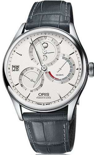 Oris Watch Artelier GMT Leather Croco Set