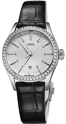 Oris Watch Artelier Lady Date Leather