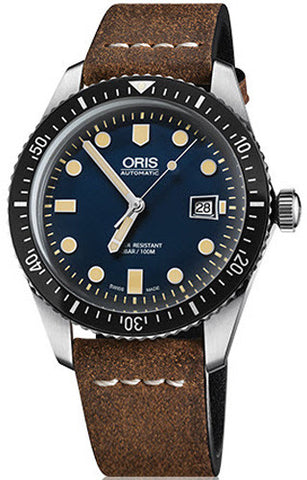 Oris Watch Divers Sixty Five Leather