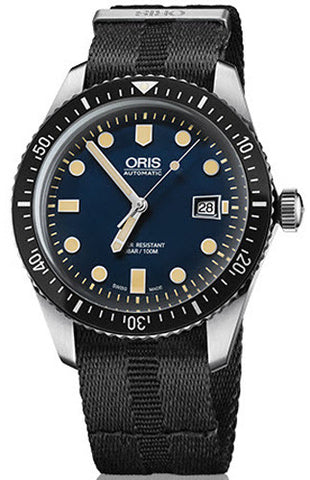 Oris Watch Divers Sixty Five Date Nato Black