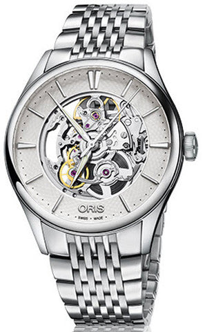 Oris Watch Artelier Skeleton Bracelet