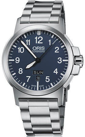 Oris Watch BC3 Day Date Bracelet