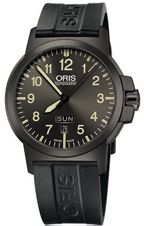 Oris Watch BC3 Day Date Rubber