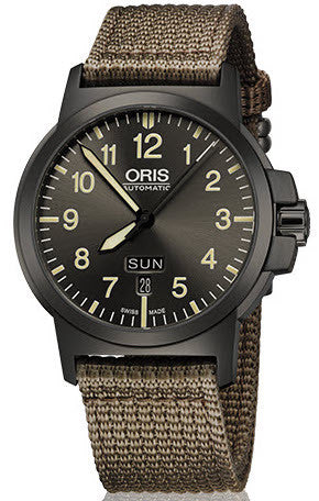 Oris Watch BC3 Day Date Textile
