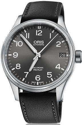 Oris Watch Big Crown ProPilot Big Date Leather